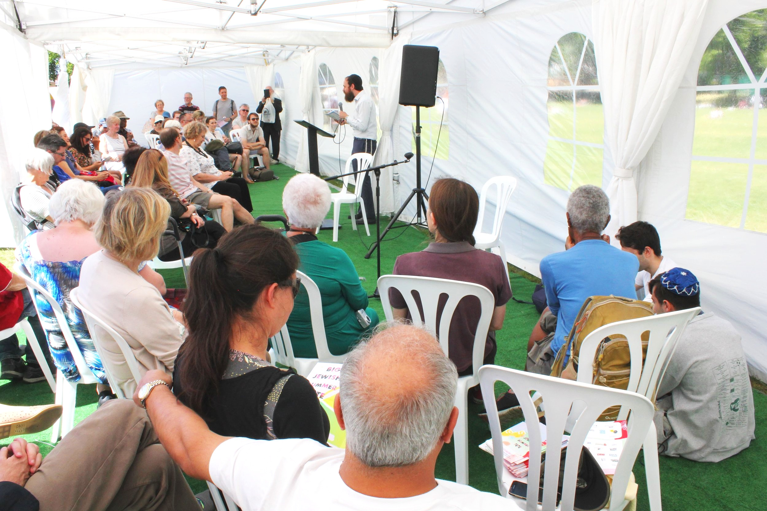 Come down to Speakers' Corner and explore Jewish culture with our stellar line-up of speakers.