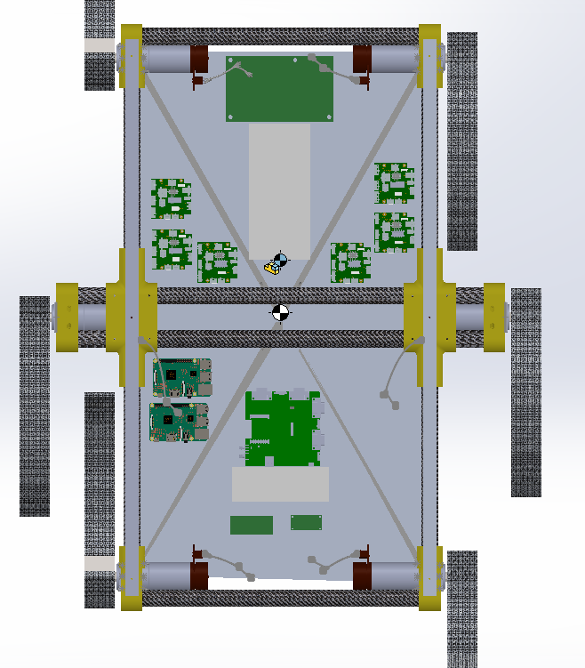 Top View Component Layout