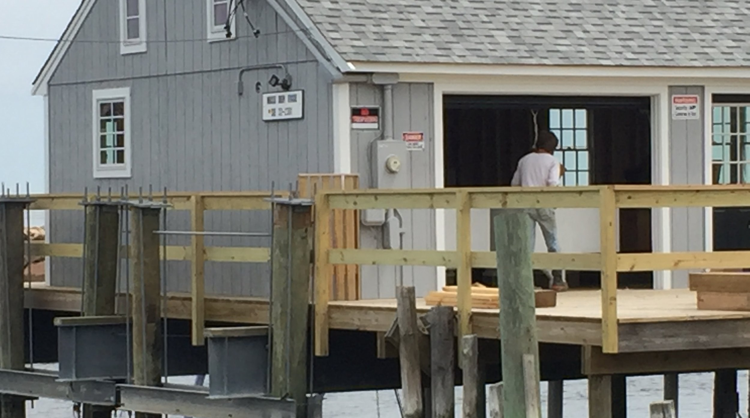 A.R.C.'s new shellfish nursery on the Herring River in Harwich, MA.