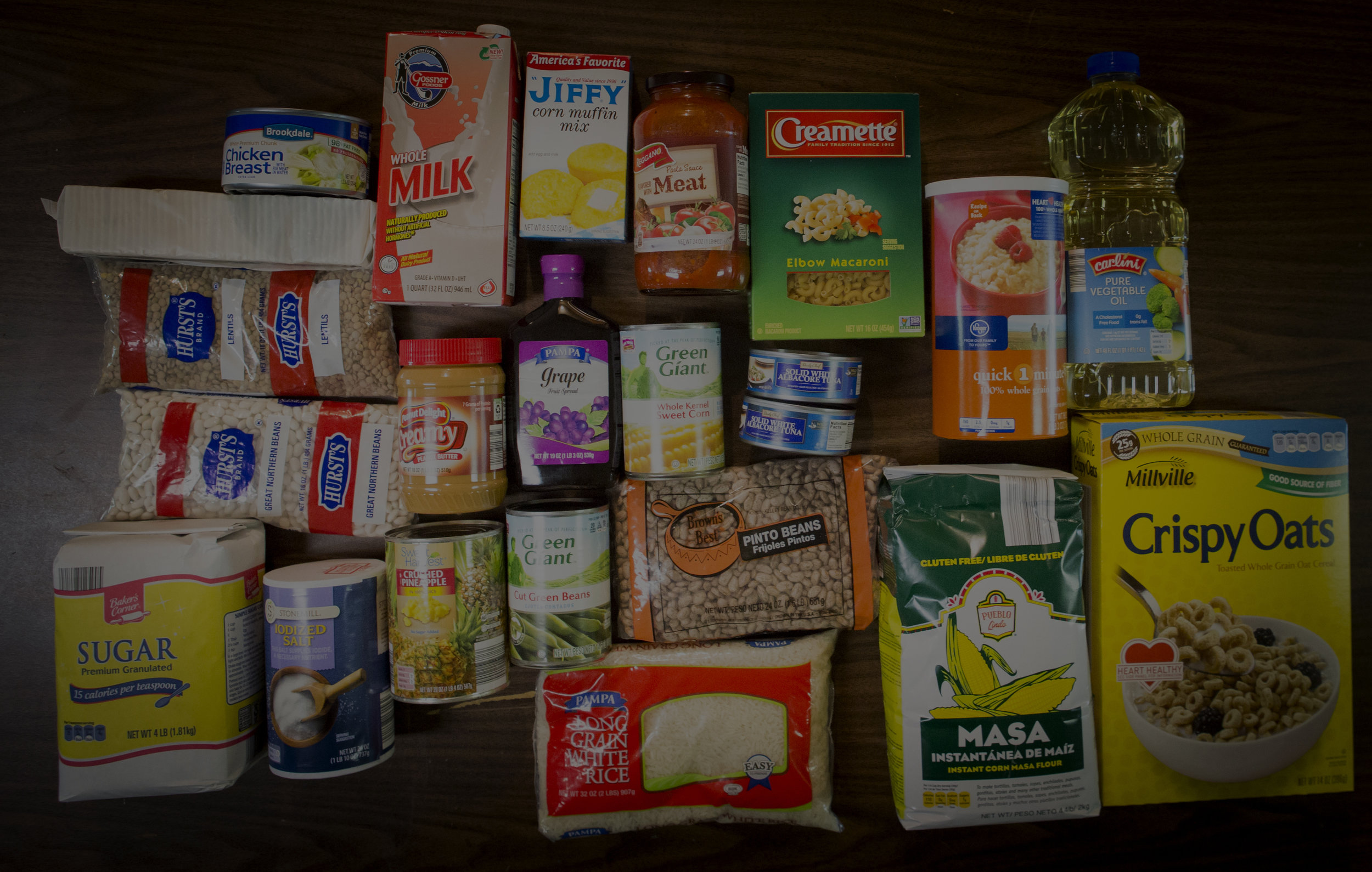 Food Pantry Needs -