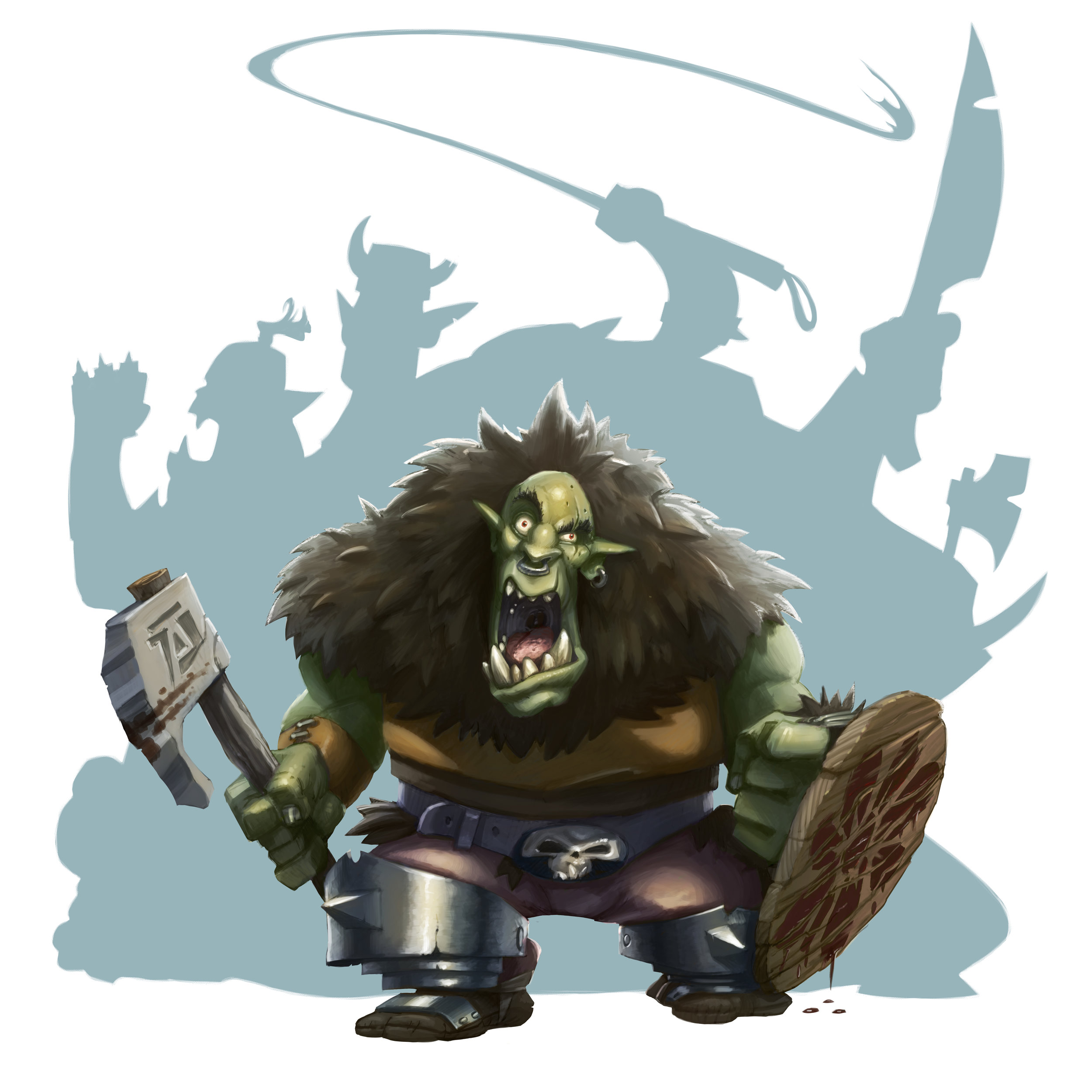 Orc, childrens book, 2017