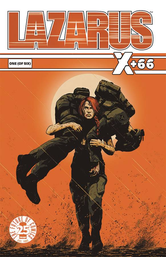 LAZARUS X PLUS 66 #1 (OF 6) - IMAGE COMICSWritten by Greg Rucka, Eric TrautmannArt by Steve LieberIn the wake of