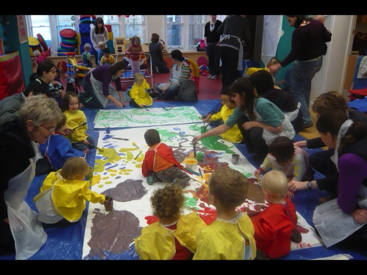 collaborative painting