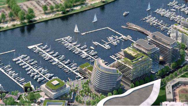One of the largest projects of next year will be the mid-2018 groundbreaking of the 1.15 million-square-foot second phase of Washington, D.C.'s The Wharf by PN Hoffman and Madison Marquette, including residential, office, marina and retail space.