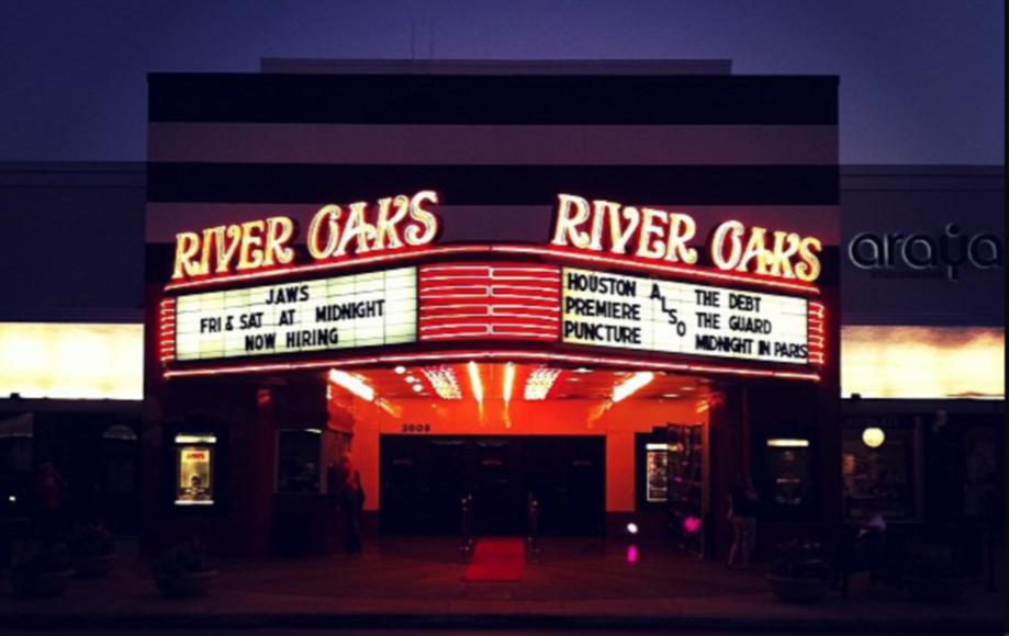 The River Oaks Theatre in Houston. Via Flickr.