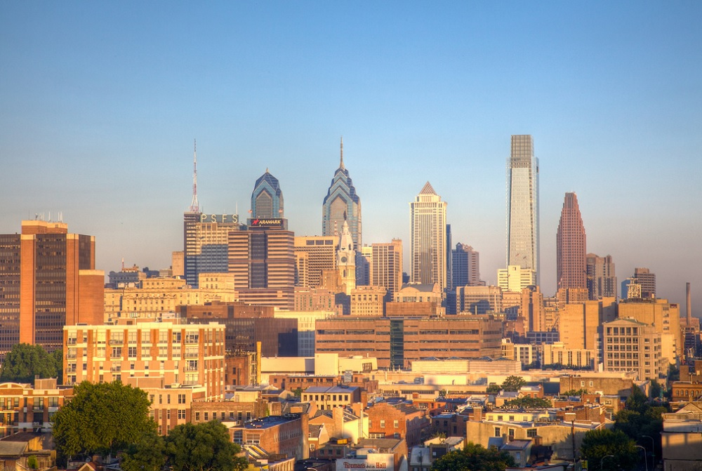 Philadelphia is home to the One Franklin Town complex, the largest apartment project supporting a new Brookfield-related bond offering. Photo: Bob Snyder, Flickr