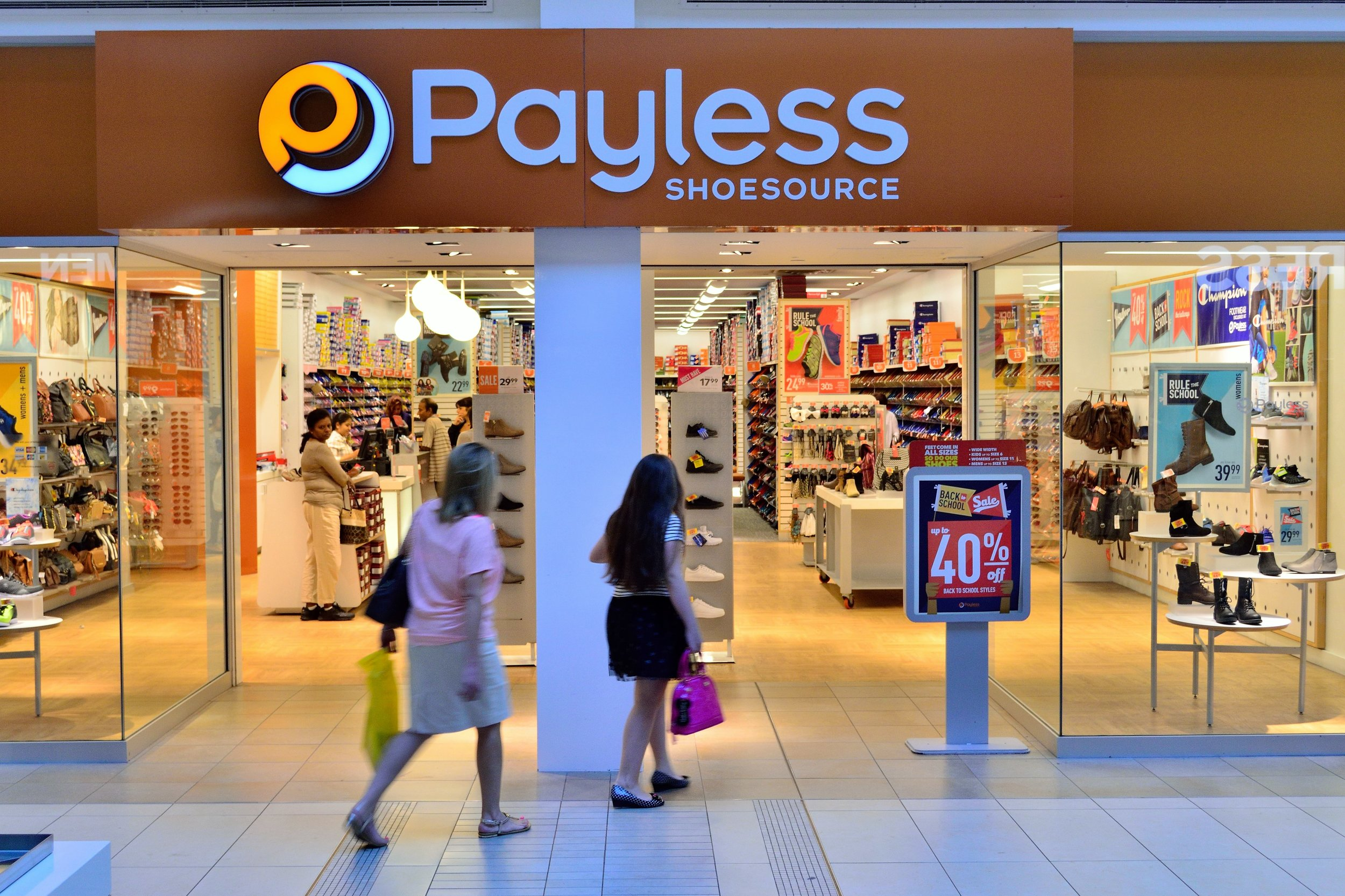 Payless ShoeSource began liquidation sales at its U.S. stores over the weekend before filing for Chapter 11 bankruptcy protection for the second time. Photo: Wikimedia Commons