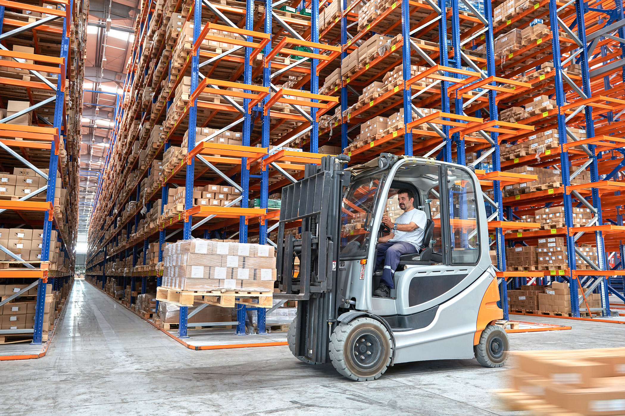 Demand for logistics property is growing as online shopping grows. Photo: iStock
