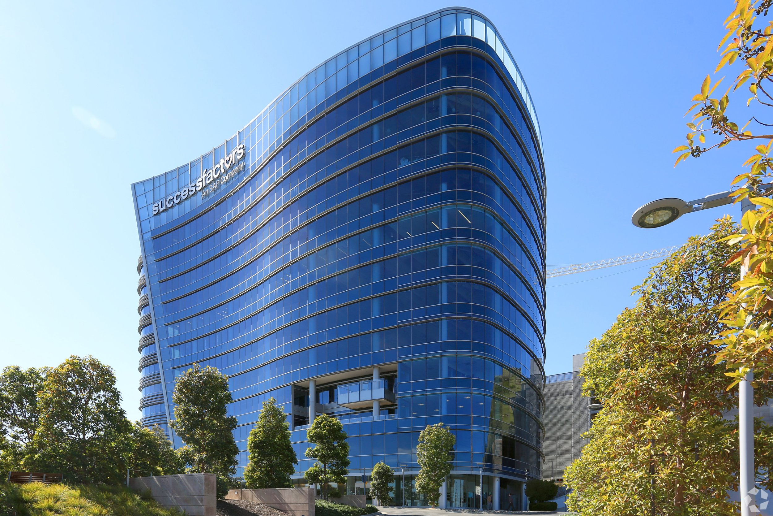Genesis Towers in South San Francisco provide an unusual opportunity for life science companies. Photo: CoStar
