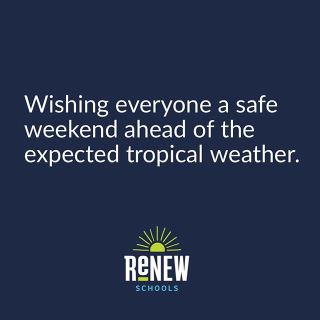 Stay safe, everyone. #tropicalstormbarry