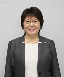 MS NORIKO MIYAMOTO   Nippon Yusen Kabushiki Kaisha (or NYK Line), Managing Corporate Officer responsible for corporate communications, IR, research, and government and industrial affairs.