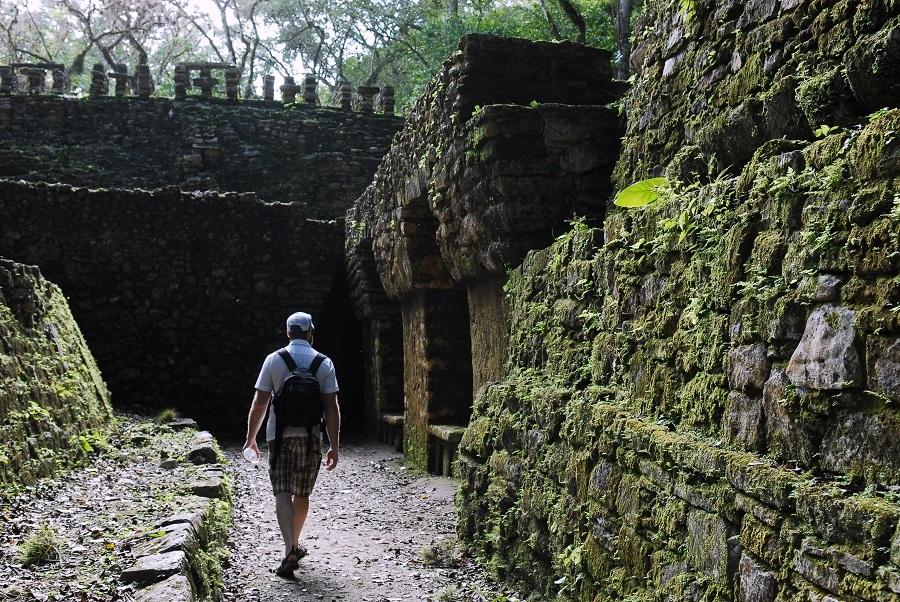 Ruins of Yaxchilan.