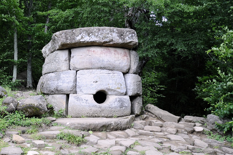 Photo of Dolmens in Russia by Lucy Frey.