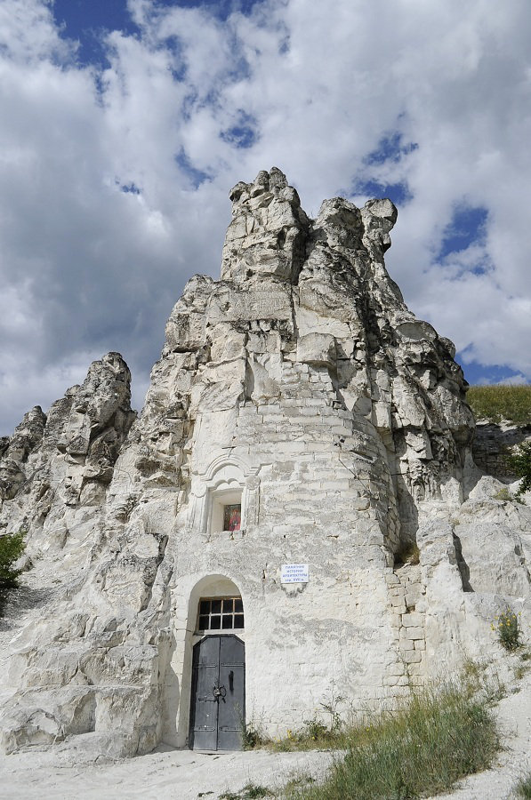 Photos of the cliff-side monasteries by Lucy Frey.