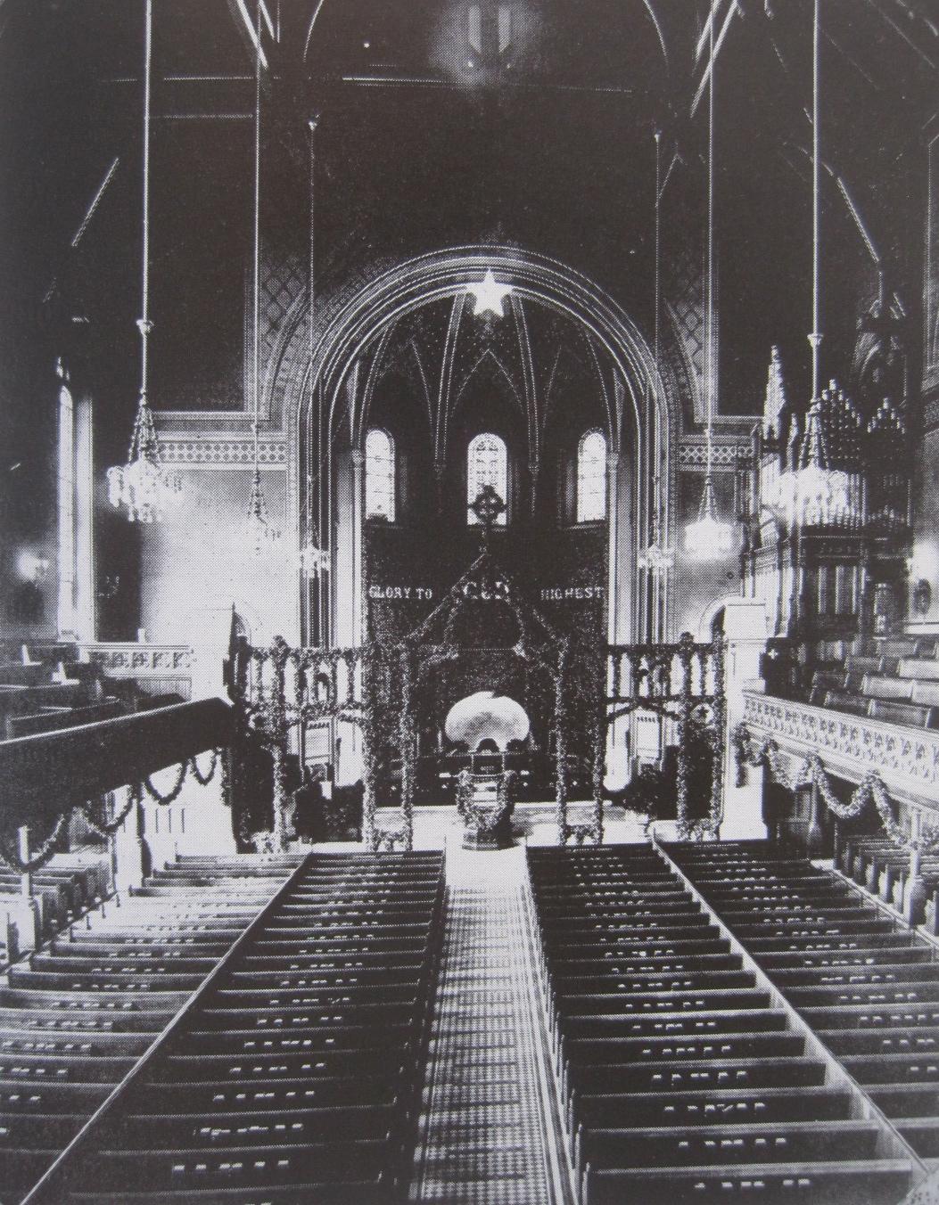 St. George's interior