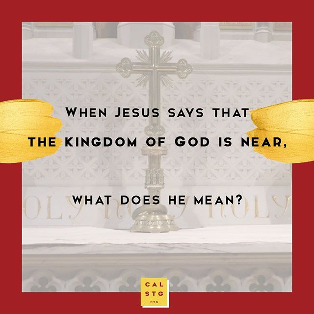 Share your answer to this question of the day👇 before swiping to read Rev. Jim's take. 🙌 . Jim is ready to share God's good news with you from the pulpit this Sunday. 🙏 . We can't wait to see you at church: St George's ⛪ | 8:30am & 10am Calvary ⛪ | 11am . . . #calstgnyc #jesus #god #bible #gospel #grace #forgiveness #church #episcopal #nycchurch #churchlife #sundayfunday #nycweekend #nycsunday #worship #liturgy #praisethelord #preach #sermon #grace #enjoyyourforgiveness #nycsummer