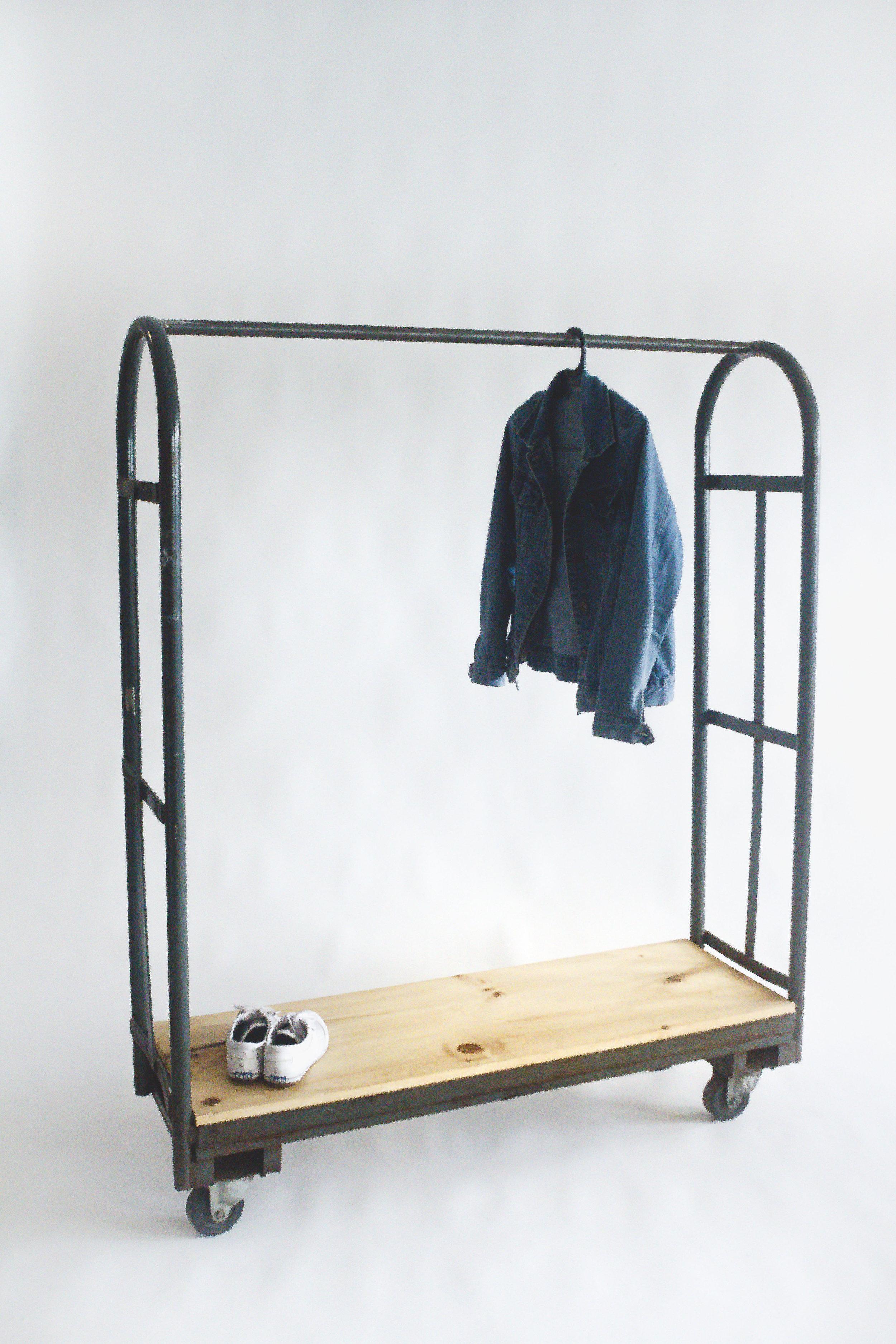 Upcycled Clothing Rack