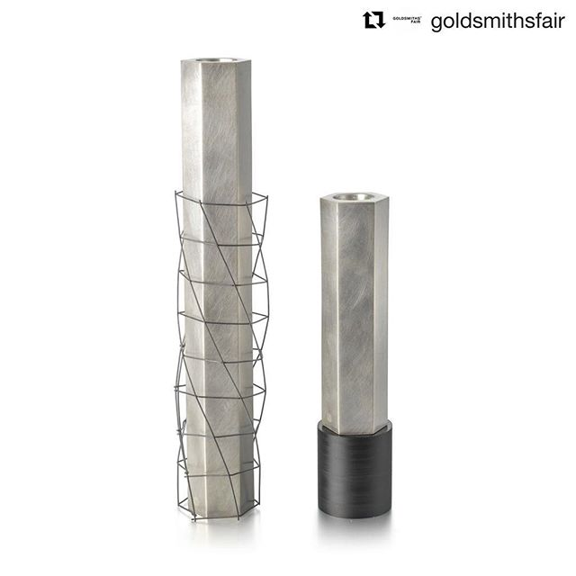#Repost @goldsmithsfair with @get_repost ・・・ #ExhibitorOfTheDay  We're looking forward to welcoming silversmithing graduate, Andrew Flemming @afsilversmith to this years Goldsmiths' Fair. Having previously studied architecture he is fascinated by construction processes within architecture.  Find his full exhibitor profile via link in bio or go to www.goldsmithsfair.co.uk  Save on tickets by purchasing Early Bird tickets now.  #andrewflemming #silversmith #graduate #intricatedesign #skill #technique #contemporarycraft #exhibit #exhibition #designfair #craftfair #jewelleryfair #exhibition #thegoldsmithscompany #goldsmithshall #designermaker #necklace #stones #preciousstones #colour