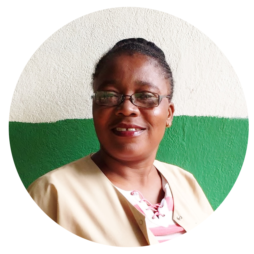 Lorna   Nurse   Good afternon! My name is Lorna and I have been serving as a nurse at Clinic Jean Wilfrid Albert since 2006. I truly enjoy being a nurse. The Grand Colline is my home and I continue to work in this area because I want to help provide healthcare for all the people who are suffering and cannot go to the hospital. I hope to help raise awareness concerning their health needs and also help them find ways to prevent certain diseases from returning