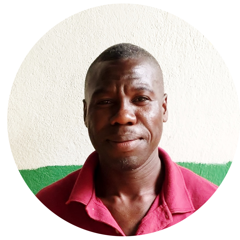 Emmanuel   Administrator   Hello, My name is Emmanuel but many call me Mono. I work in medical administration for Clinic Jean Wilfrid Albert. I really love the clinic and helping the healthcare of the people in the Grad Colline since I joined in 2016. Having grown up in Cherident, I know alot of the people and families of the area well. I always like it when they come to the clinic and I have the chance to greet them and make their day better. I am a leader in the church. I work at the clinic because I believe the health of the people is very important in the development of the region. I am so happy because over the last year we have done so much for many people in our mobile clinic but we still have many sick people who have yet in need of a doctor. We still have to work to help them and not stop. There are more out there who need us to continue in our work
