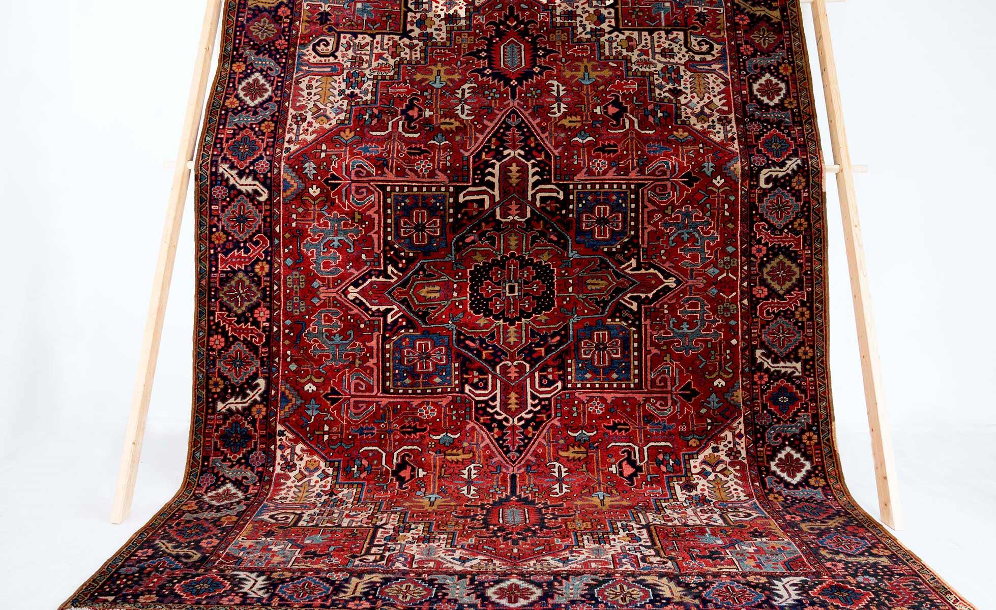 NO. 0173 /  PERSIAN (HERIS) / 90 YEARS /10'4 x 7'9 FT