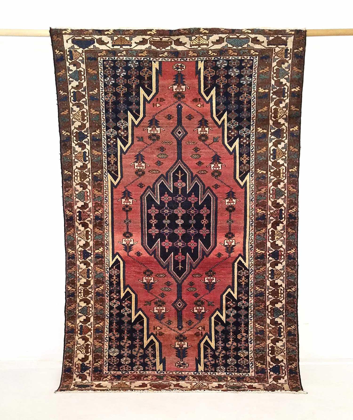 NO. 0093 /  PERSIAN (HEMEDAN) / 95 YEARS / 6'7 x 4'3 FT