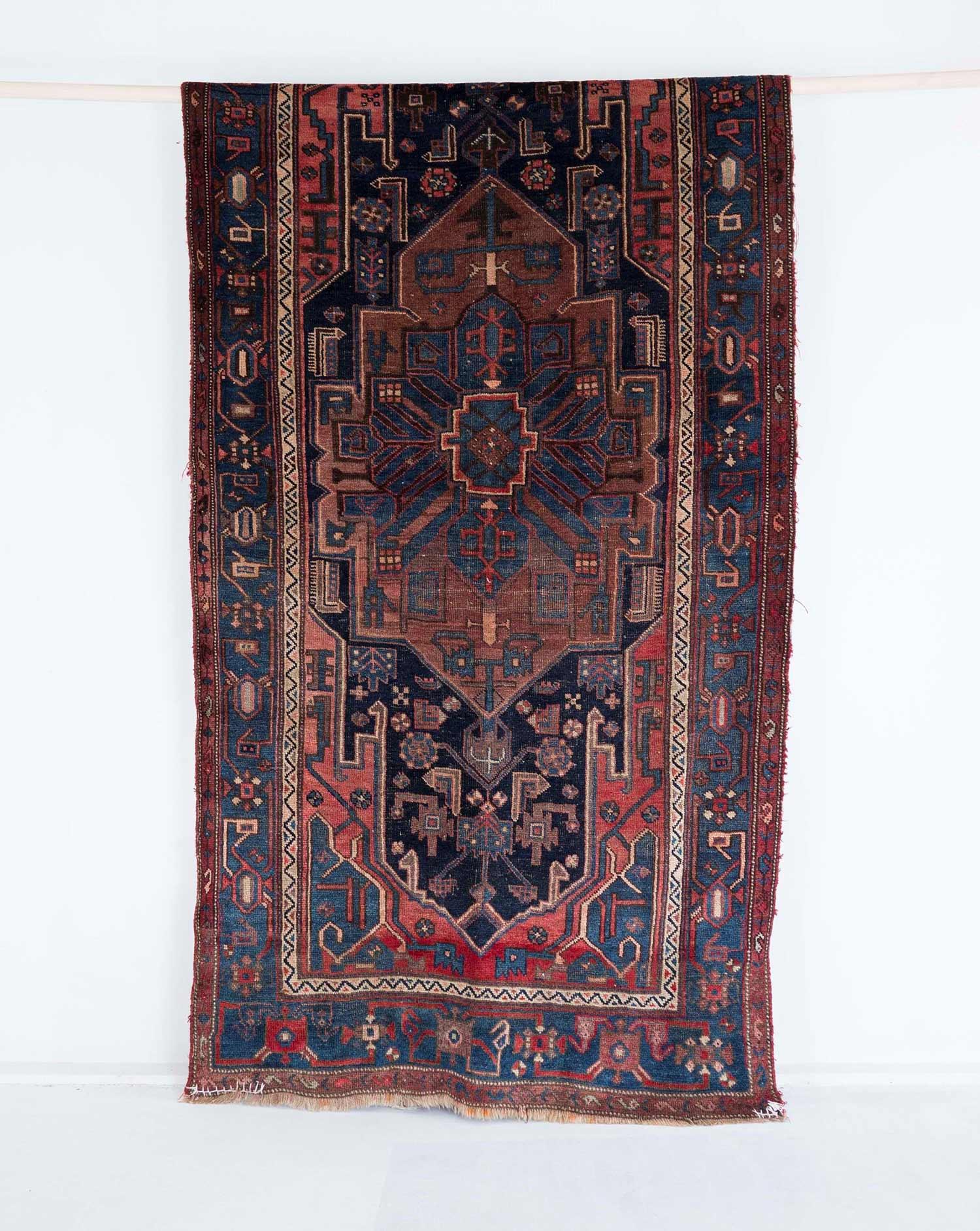 NO. 0006 /  PERSIAN (BIJAR HALVAI) / 90 YEARS / 8'2 x 4'2 FT
