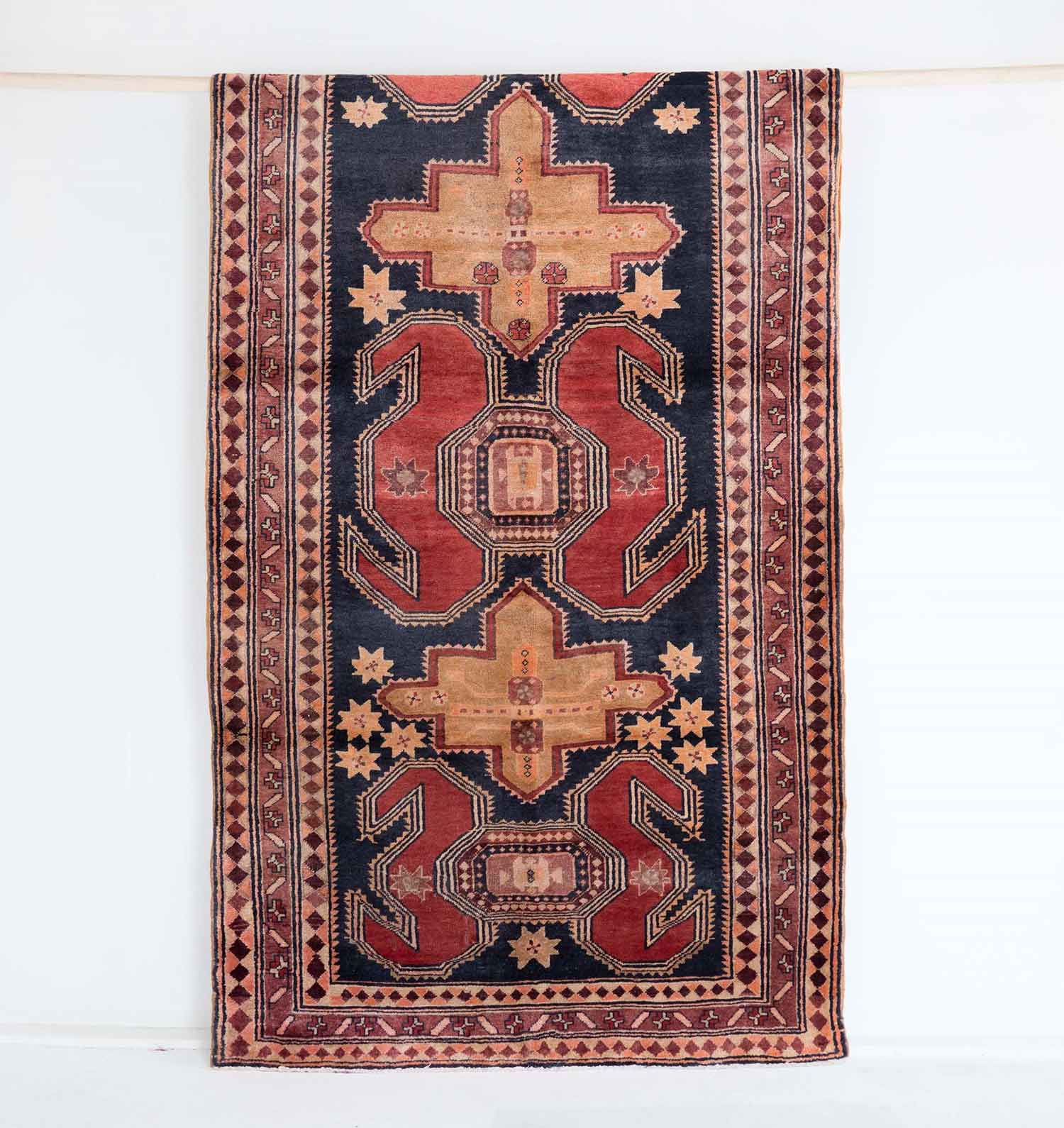 NO. 0076 / PERSIAN (ARDABIL) / 50 YEARS / 10'0 x 4'5 FT