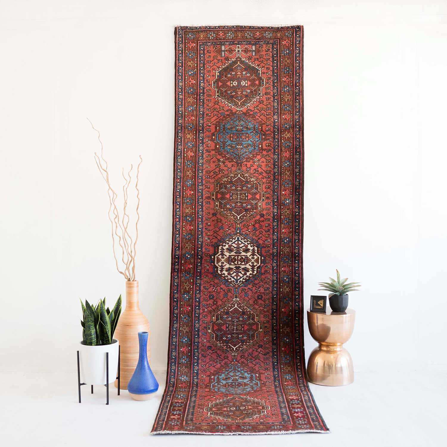 NO. 0042   / PERSIAN (HERIS) / 80 YEARS / 10'8 x 2'10 FT