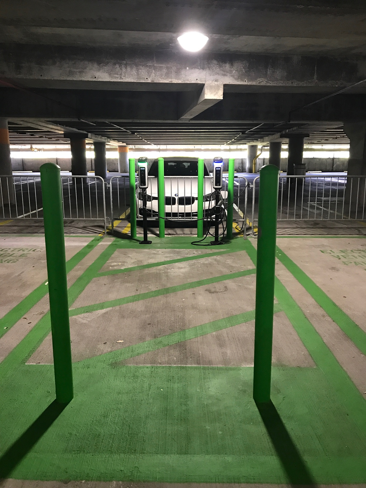 American Airlines Arena Electric Car Charging