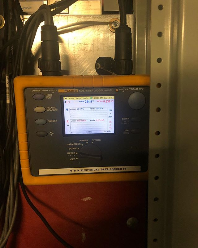 Data Logger Installed this morning over at Key Biscayne.  Client gave us a call to get the data Logger installed to measure the power quality they currently have. We offer data logging services for Engineering firms, installation of generators, Electrical alterations, to measure the current power quality. Give us a call to get the right solution you require. @wnelectrical  #electrical #fluketester #electrician #electricalengineers #electricalengineering #power #powerquality #wearethebest #letsmakeithappen #quality #electricalcontractor #wnelectrical #engineering #engineeringfirms #miami #keybiscayne #coralgables #sunnyislesbeach #sunnyisles #ftlauderdale #palmbeach