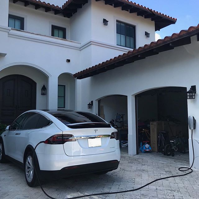 Another Happy client in Key Biscayne. If your priority is having a proper quality installation that looks aesthetically pleasing we are your solution. Give us a call today. If you are also on the fence of purchasing a Tesla give us a call and we will help guide you. @wnelectrical . . . #wnelectrical #tesla #teslamodelx #teslamodels #teslamodel3 #electricvehicle #weareyoursolution #keybiscayne #coralgables #floridakeys #keylargo #gablesbythesea #electrician #electricalcontractor #generalcontractor #miami #miamidade #villageofkeybiscayne #doneright #passion #quality #bestcontractor #chargingthefuture #science #futuretech #standbygenerators #hurricaneseason  @teslamotors @wnelectrical @elonmusknews @elon @elonrmuskk @teslamodel_3 @teslanewsdaily