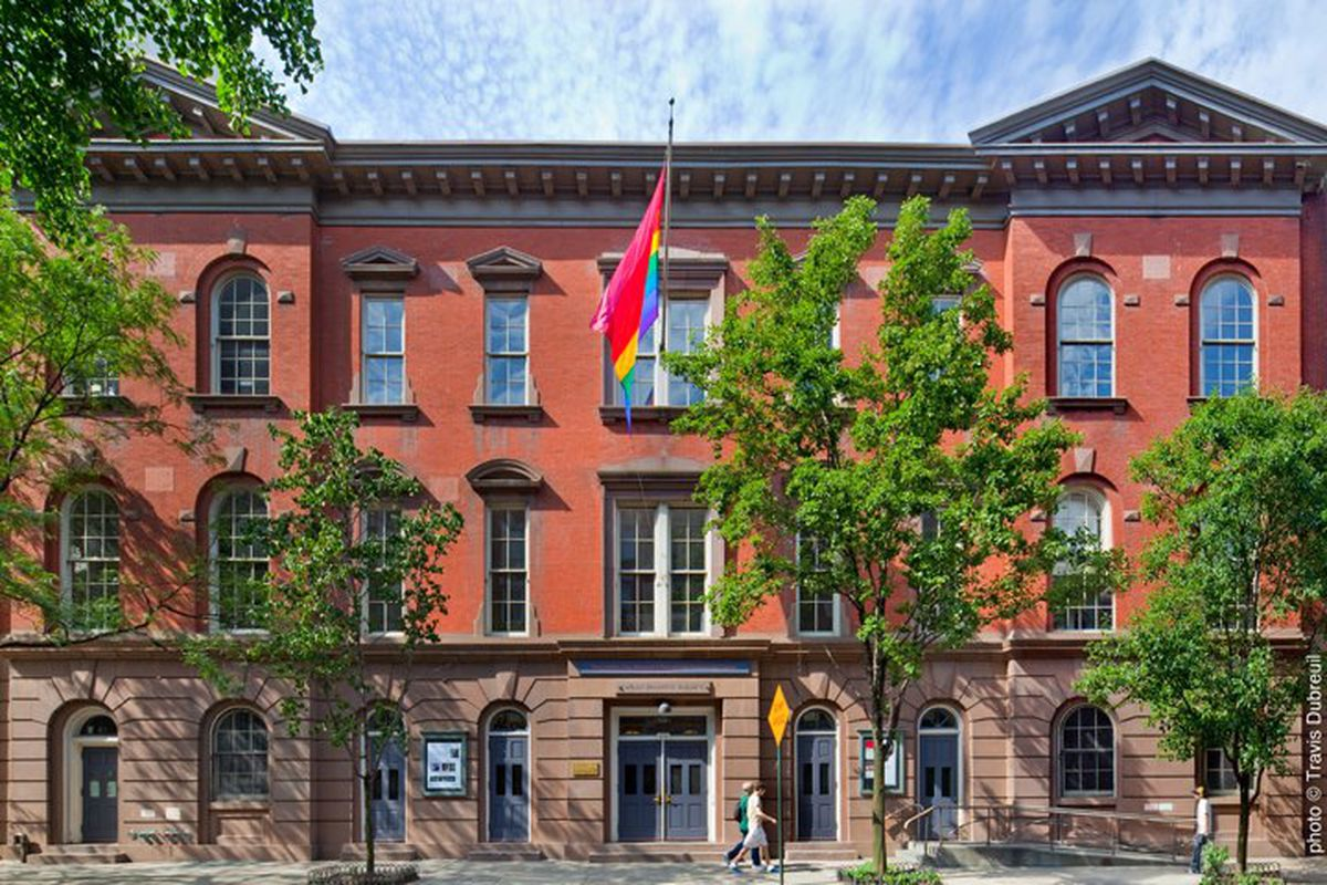 The Center  is an LGBTQ Community Center in Greenwich Village. In addition to other resources and programs for the greater LGBTQ community, The Center provides youth programming for young people between the ages of 13-21. The Center not only offers leadership programs and support services for its youth community, it also gives LGBTQ youth a safe and inclusive place where they can be themselves, make friends, and have fun. Photo by Travis Dubreuil.
