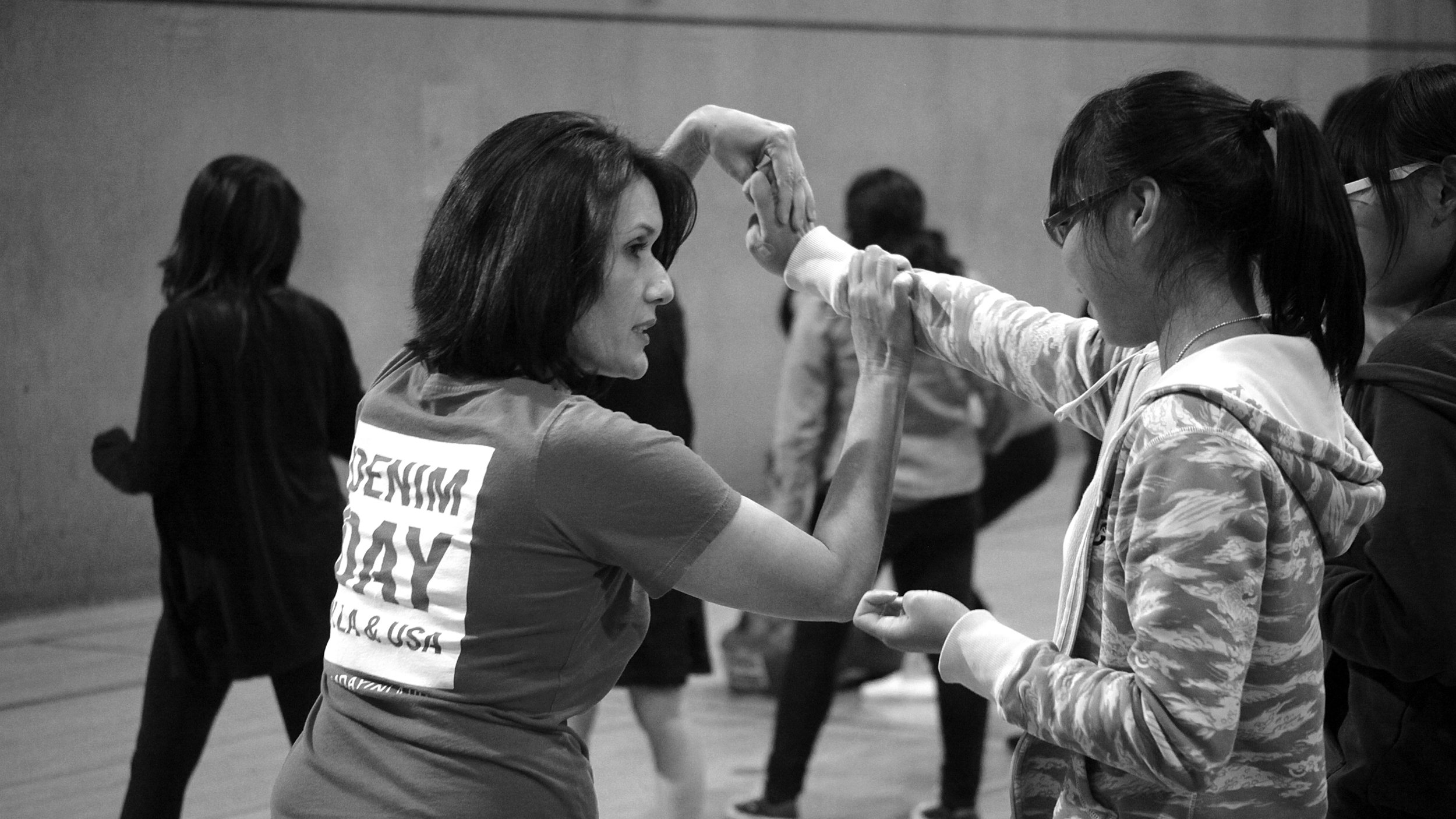 Empowerment Self Defense Peace Over Violence