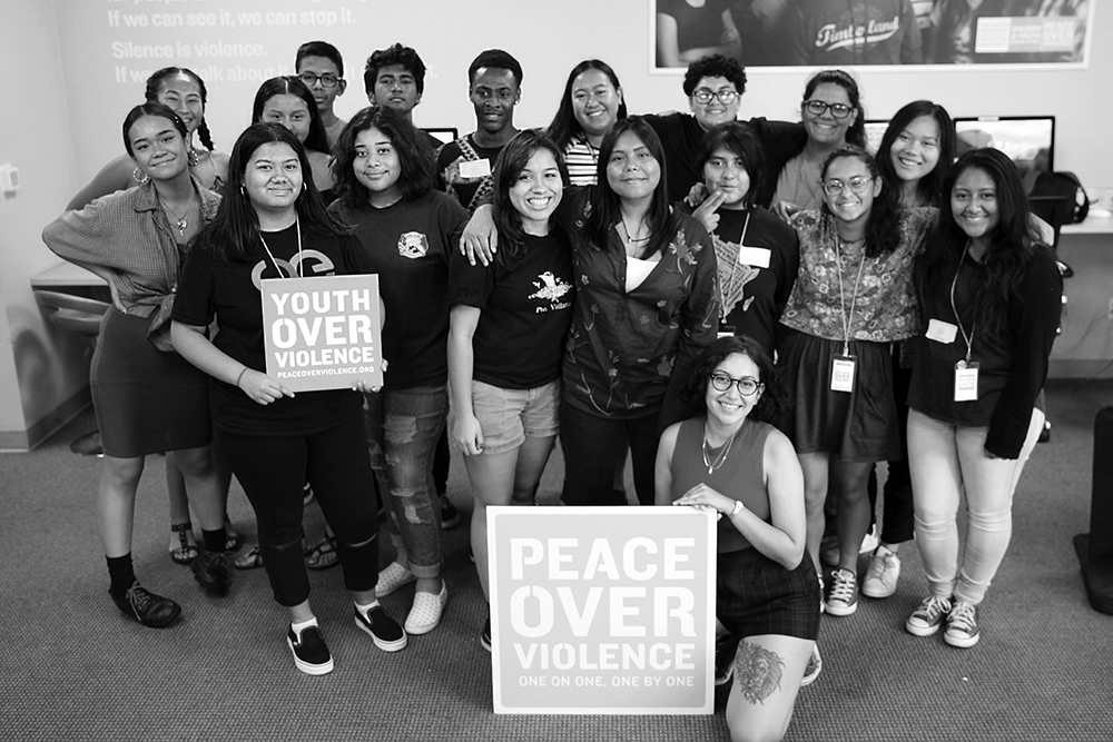 Youth leaders gathered for five weeks over the summer to participate in workshops like Community Organizing, Creative Writing and Digital Media to complete their internship.