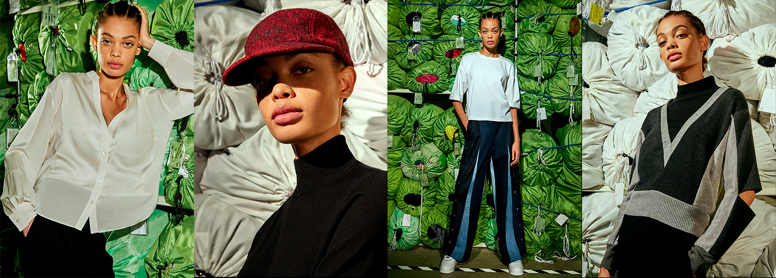 The capsule collection from Public School X Eileen Fisher