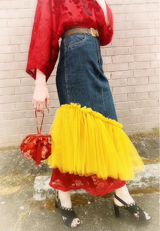 Old Skirt, New Tricks - What a little No Shopping can do!