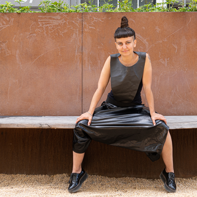 Amy Khoshbin - our favorite artist? politician? performer? …all of the above