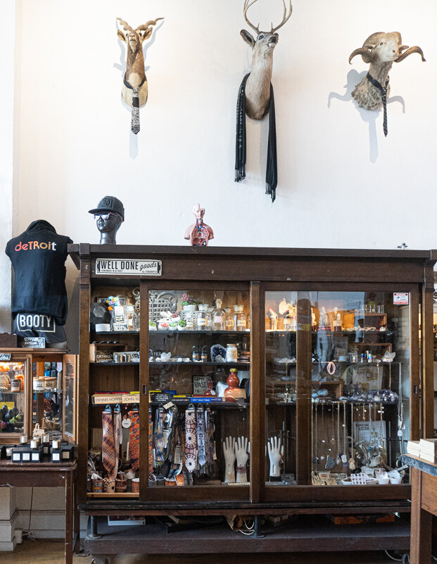 Well Done Goods –the shop below the workshop
