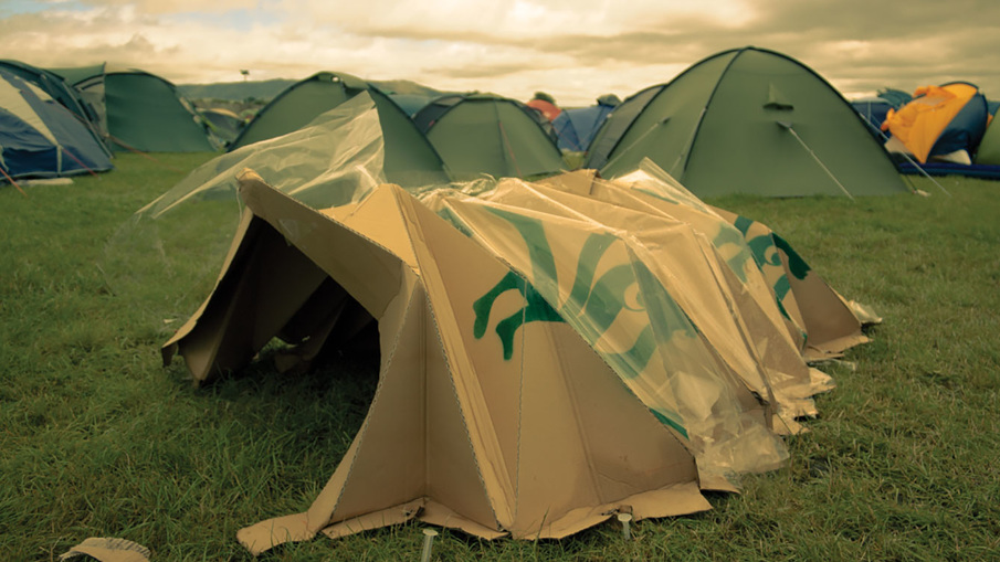 SEED-SOWING biodegradable tent -
