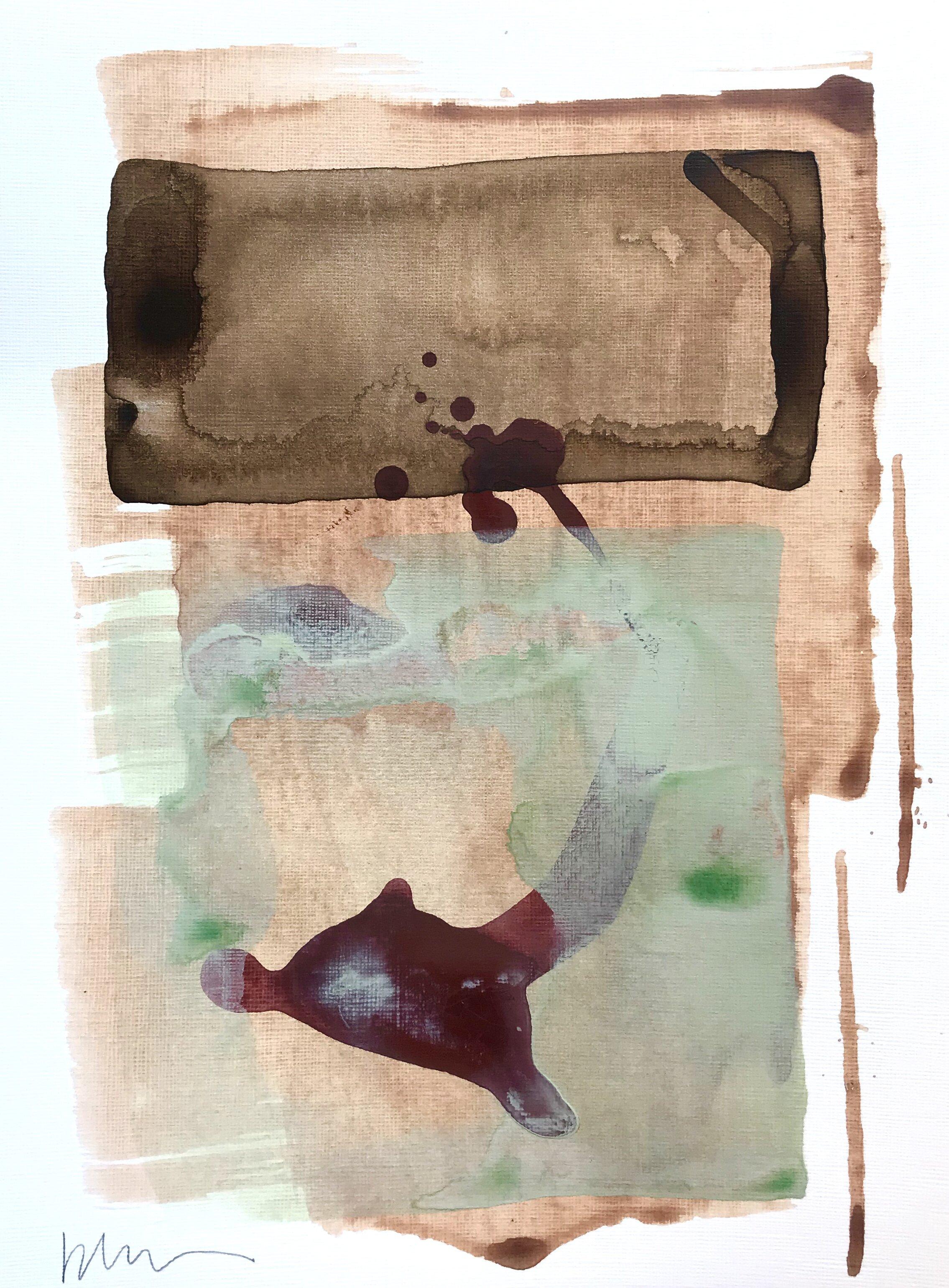 Britt McGraw 9x12 acrylic on heavyweight paper_%22Splashed Leaves%22 #3_$150.jpg