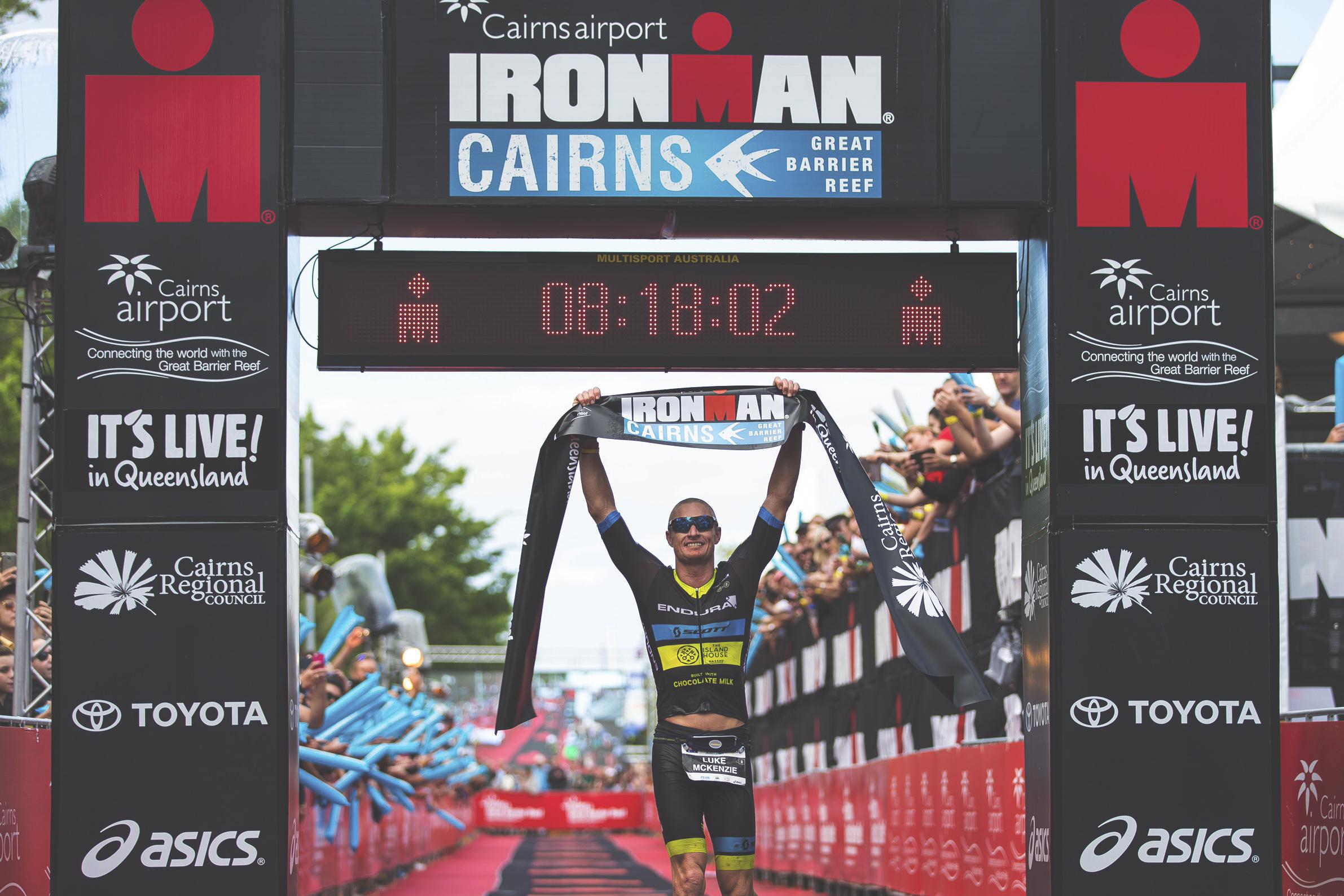 Luke McKenzieProfessional triathlete AND 8x ironman champion -