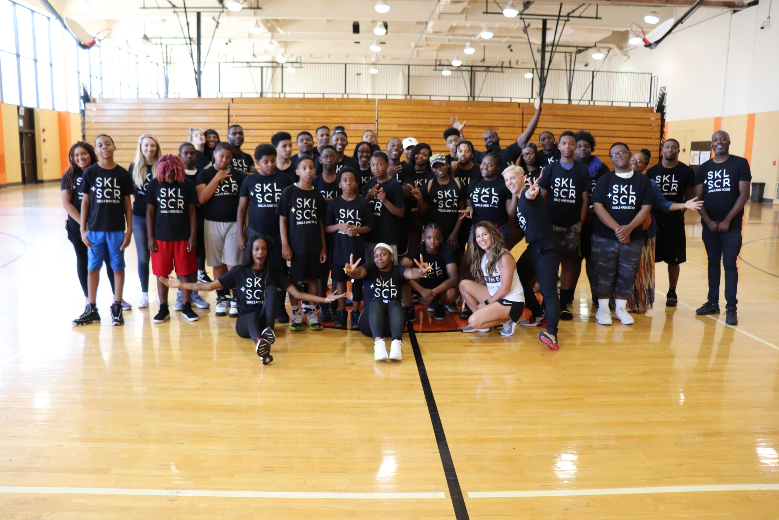 The 2019 SKL + SCR Basketball and Broadcast Camp at Percy L. Julian High School