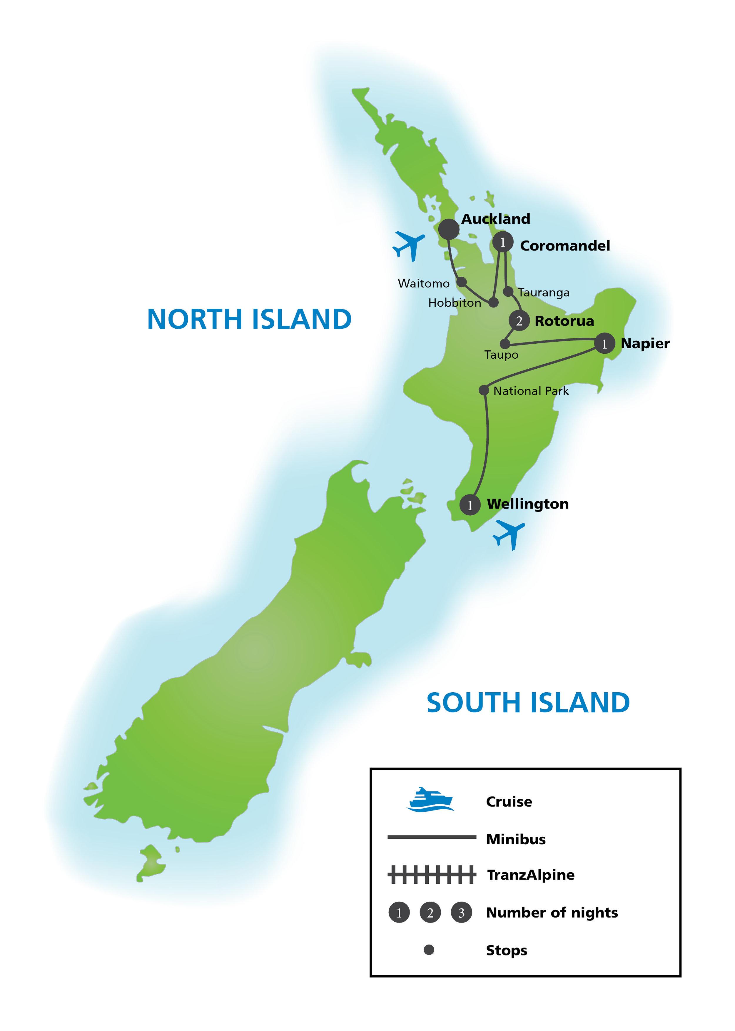 North Island Tours -