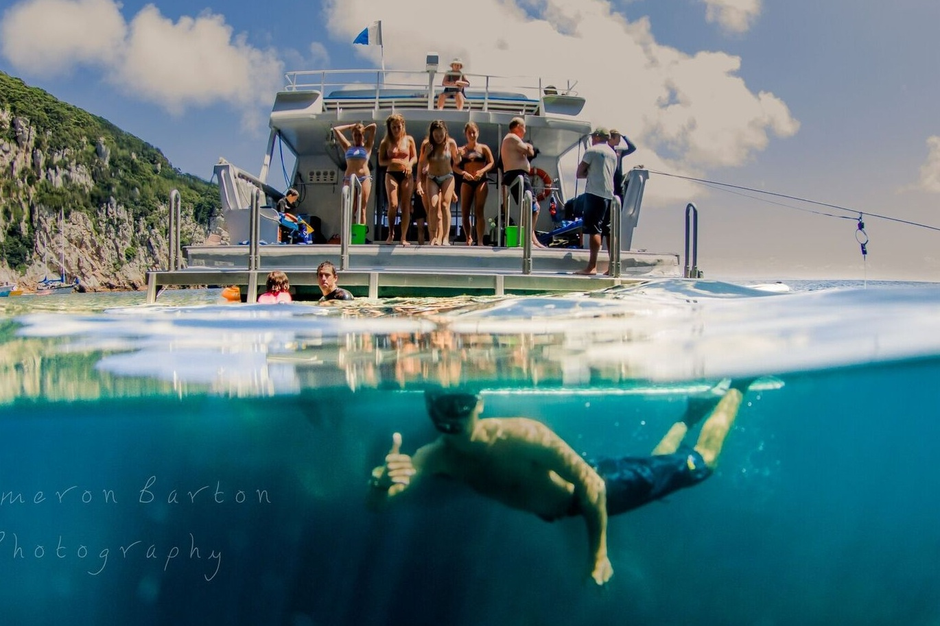Snorkel Or Dive the Poor Knights Tour - From $350 Per Person