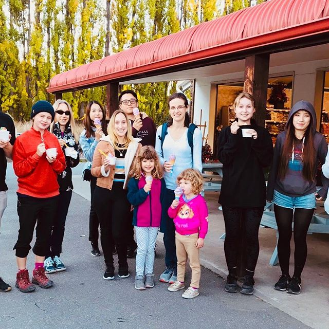 Real Fruit Icecream!!!! Just one of the surprise stops with @cheekykiwitravel Day Tours from Queenstown to #mtcook #milfordsound & #wanaka ... Join us for a fun family day out in New Zealand's natural playground. Book now via @cheekykiwitravel  #family #nature #nzmustdo #queenstownmustdo #smallgrouptours #icecream #realfruiticecream #fundayout #queenstownkids