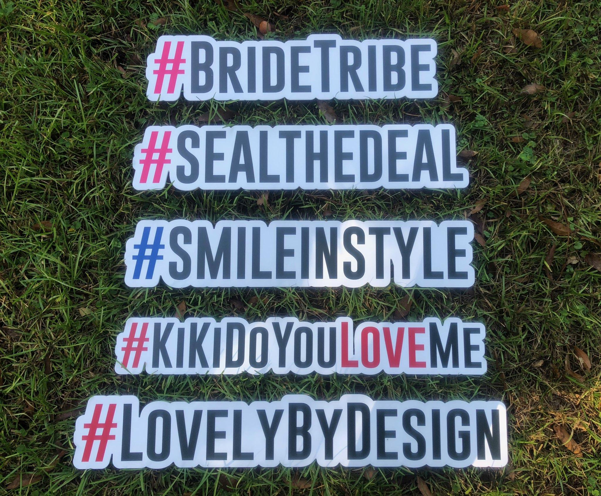 Custom #Hashtags $65 each - Have a wedding hashtag? Want to forever commemorate it? Add a custom sign that will make your photos stand out! This is also yours to keep after your event.