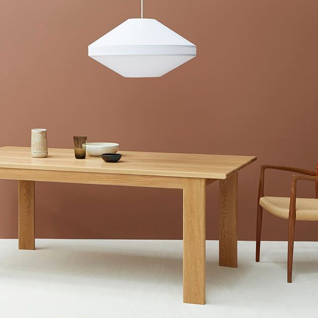 Central to the home. Our FIRST solid oak dining table. Ready to host meal time and Christmas lunches for many years to come. Orders are closing 23rd October for guaranteed pre-Christmas delivery. #diningtable