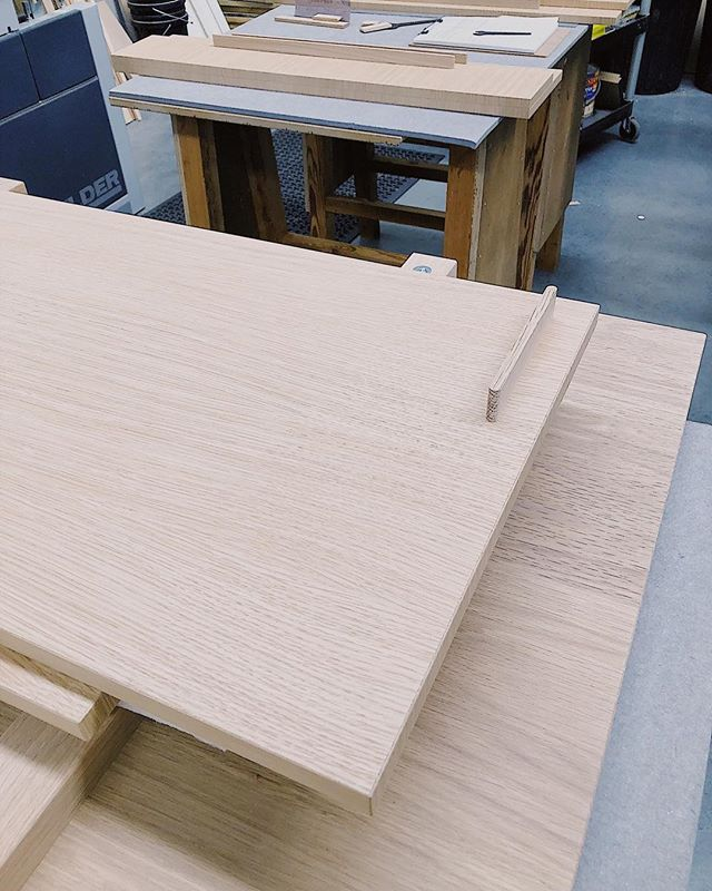 Back in the workshop for 2019. Handle detail on a new joinery collection that we are excited to launch this year. #nickpearcefurniture #kitchenbynickpearcefurniturestudio
