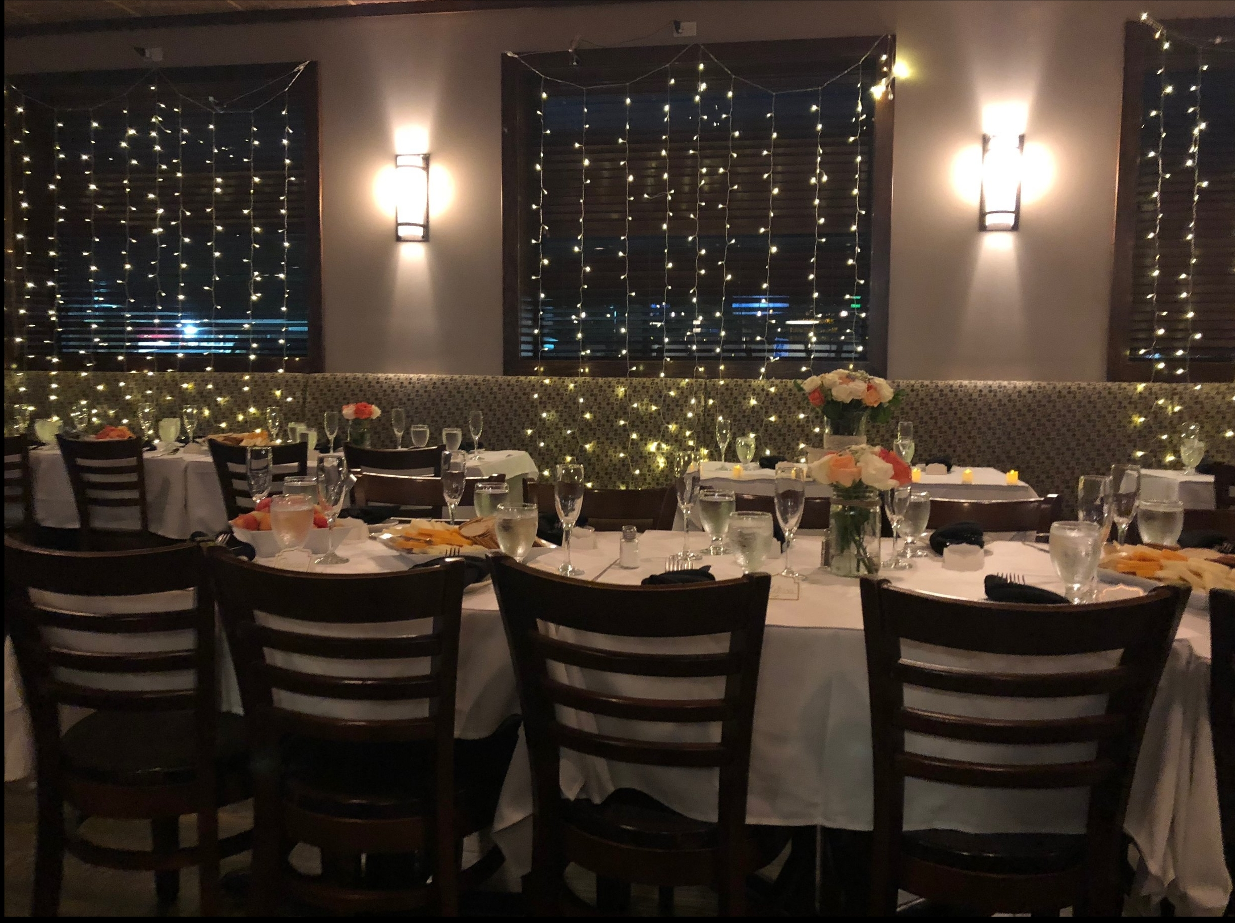 Have your next private event or party with us at Jackson Hall ! -